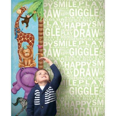 Pilt 25 - Lastetuppa loo efekti erilise tapeediga