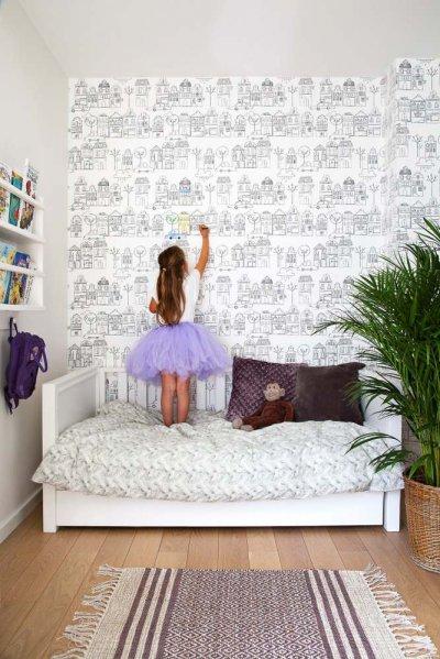 Pilt 16 - Lastetuppa loo efekti erilise tapeediga