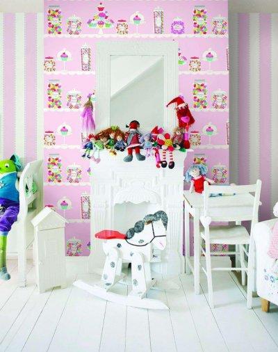 Pilt 44 - Lastetuppa loo efekti erilise tapeediga