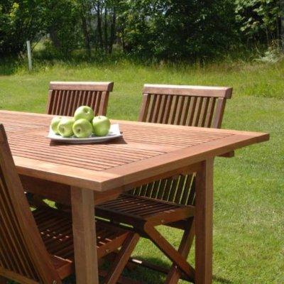 Kuidas hooldada aiamööblit puiduõliga?