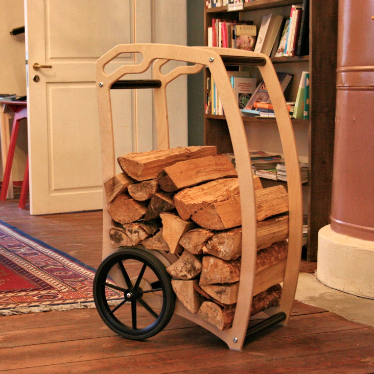The Firewood Cart - created with Scandinavia in our minds