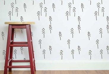 Tee ise efektne šabloonpilt lastetoa seinale