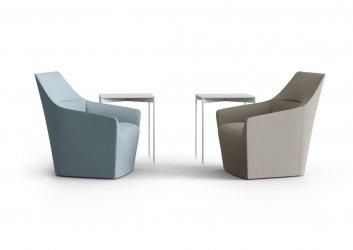 Pilt 13 - CHIC AIR (Profirm) - kerge joone, silmapaistvalt kauni ja minimalistliku disainiga kompaktsed ning õhulise joonega toolid ja pingid sobivad ideaalselt avalikesse ruumidesse.