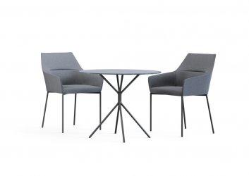 Pilt 12 - CHIC AIR (Profirm) - kerge joone, silmapaistvalt kauni ja minimalistliku disainiga kompaktsed ning õhulise joonega toolid ja pingid sobivad ideaalselt avalikesse ruumidesse.