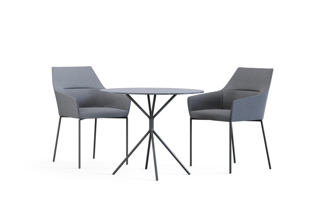 CHIC AIR (Profirm) - kerge joone, silmapaistvalt kauni ja minimalistliku disainiga kompaktsed ning õhulise joonega toolid ja pingid sobivad ideaalselt avalikesse ruumidesse.