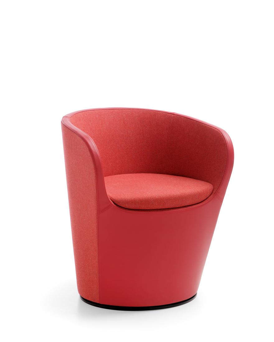 NU SPIN (Profirm) - puhta ja elegantse disainiga vorm pakub igakülgse mugavuse ja toe. Nu Spin on eriti kasulik väiksemates ruumides, kus vajatakse mugavaid ja kompaktseid istmeid.