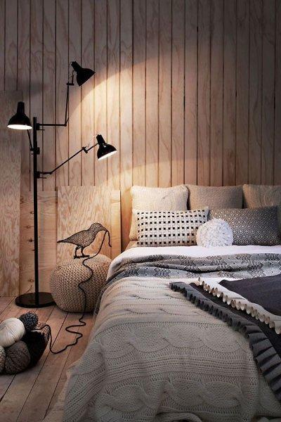 Pilt 5 - Voodrilaud magamistoa seinas