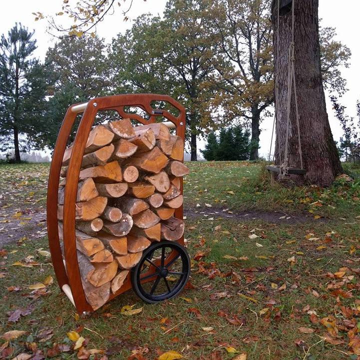 Milline on trendikaim viis küttepuude kuivatamiseks eluruumis?