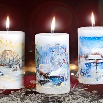 Jõuluküünlad eritellimusel