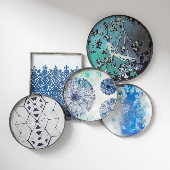 Norte Monde kandik - kunstiteos laual ja seinas
