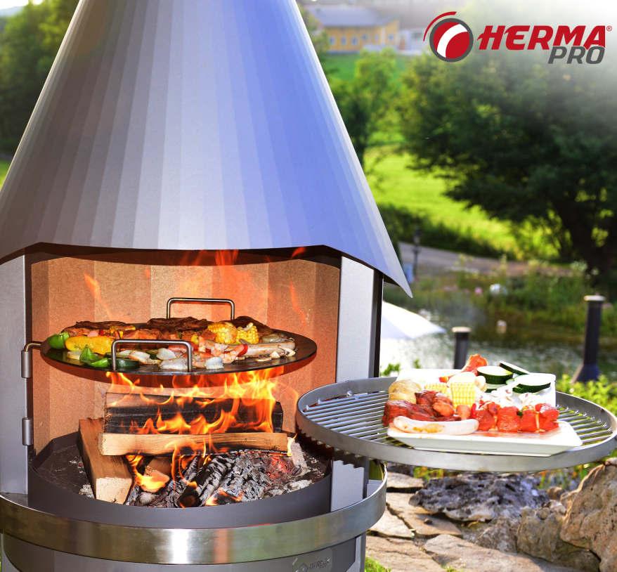 Terrassikaminad sobivad kõigile, kellele meeldib kokata ka keset talve