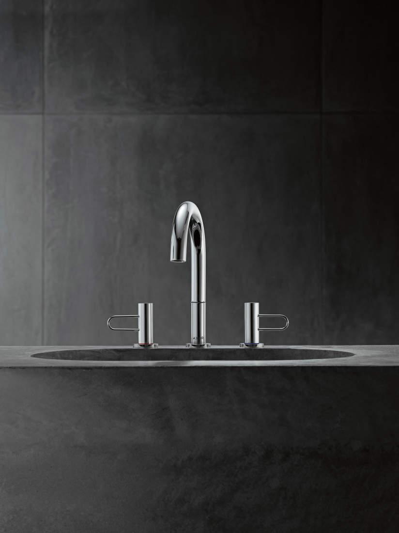 AXOR Uno vannitoa segistid ja dušid: täiuslikkuseni viimistletud puhas disain