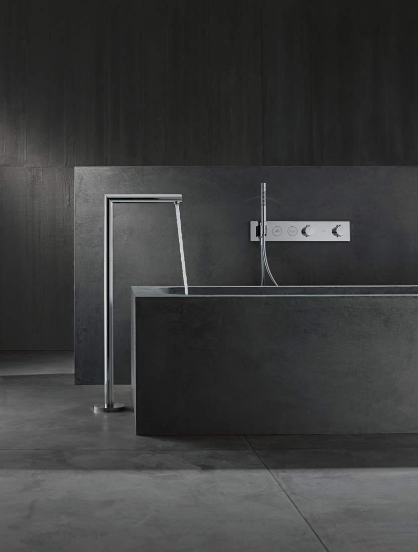 Pilt13-AXOR Uno vannitoasegistid ja -dušid: täiuslikkuseni viimistletud puhas disain