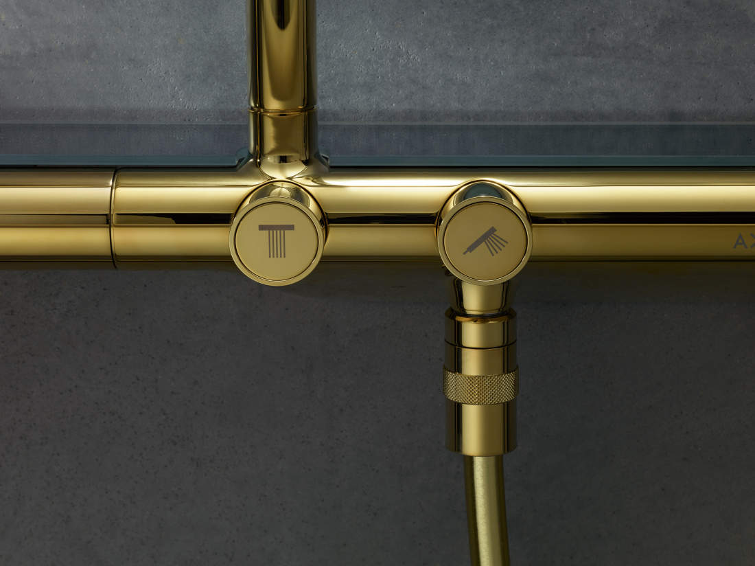 Pilt9-AXOR Uno vannitoasegistid ja -dušid: täiuslikkuseni viimistletud puhas disain