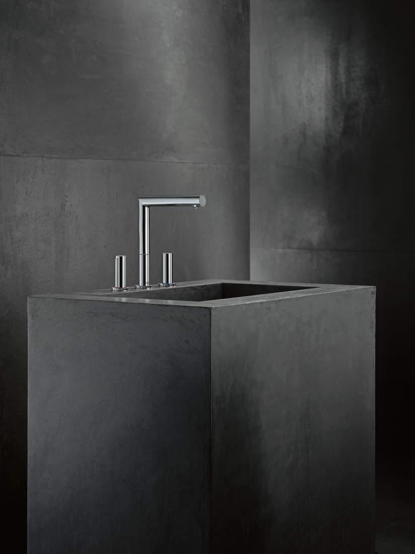 Pilt7-AXOR Uno vannitoasegistid ja -dušid: täiuslikkuseni viimistletud puhas disain