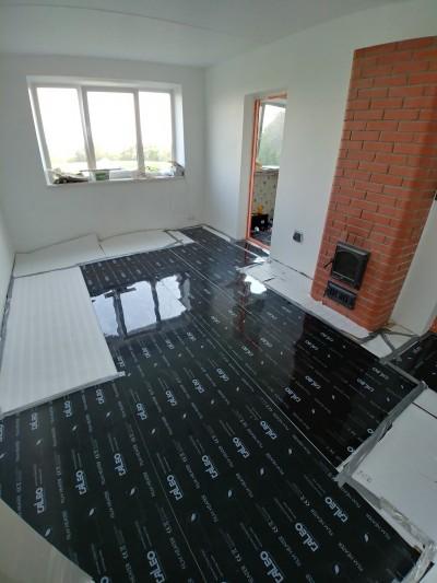Pilt 3 - Infrapuna küttekilega kaetud põrand