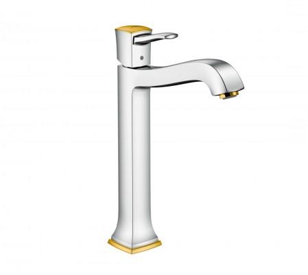 Pilt 7 - Elegantsi vannituppa kuldsete Hansgrohe segistide ja duššidega