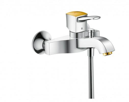 Pilt 8 - Elegantsi vannituppa kuldsete Hansgrohe segistide ja duššidega