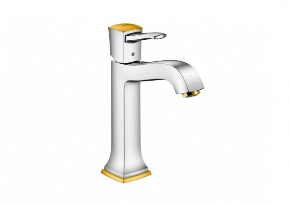 Pilt 5 - Elegantsi vannituppa kuldsete Hansgrohe segistide ja duššidega