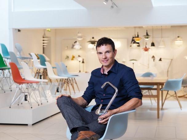 Fotol: Damixa disainer Claus Rantzau on loonud sarjad Free, Pine, Rowan ja ühe-kangilise versiooni Tradition.