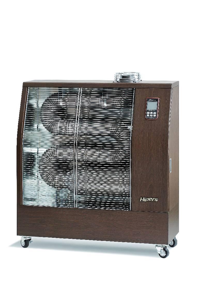 Ahju põleti töös hoidmiseks tarbib kütteseade kõigest 40W elektrienergiat, tänu millele saab ahjusid käivitada ja töös hoida ka auto aku pealt.