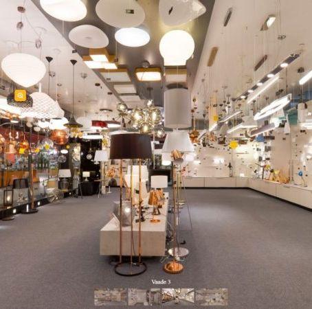 Virtuaalne jalutuskäik Hektor Light Järve kaupluses