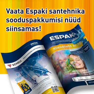 Tutvu ESPAKI kliendilehe 98 pakkumistega (kehtib kuni 30.11)