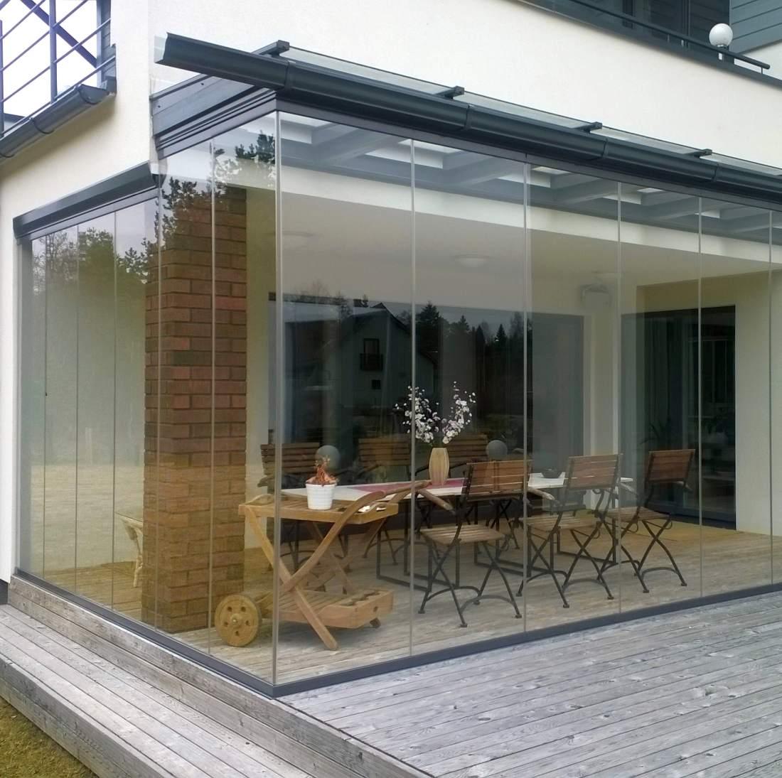 Klaasitud terrass aitab Eesti suve täiel rinnal nautida