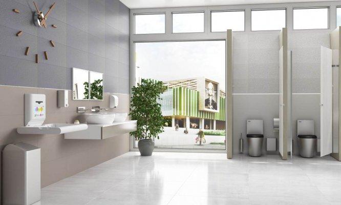 Pilt 2 - MEDICLINICS avaliku ruumi kätekuivatid, dosaatorid, vannitoatarvikud