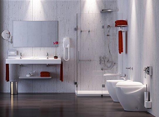 Pilt 5 - MEDICLINICS avaliku ruumi kätekuivatid, dosaatorid, vannitoatarvikud