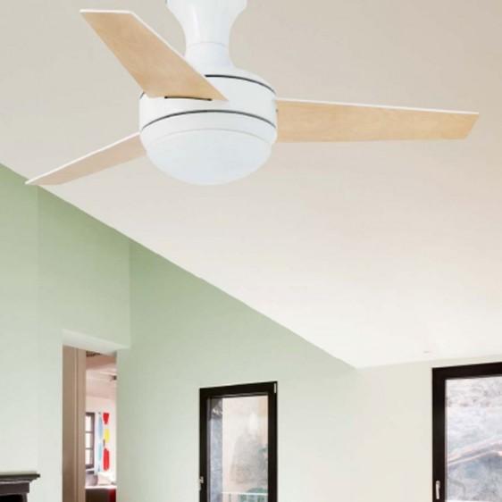 Palav? Praktiline ventilaatorvalgusti paneb õhu ruumis ringlema