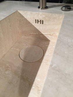 Pilt 15 - Ühes tükis marmoris valamu ja töötasapind