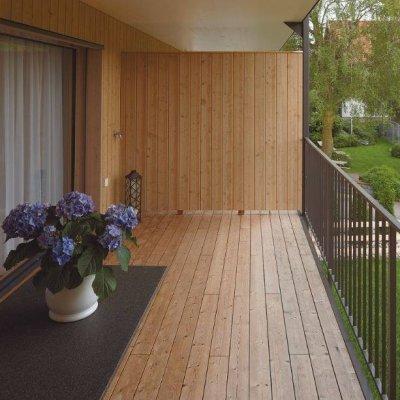 Lehisepuidust saab tugeva ja ilmastikukindla fassaadi ning terrassi