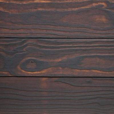 Terrassilaud lehis põletatud 1x harjatud - 5
