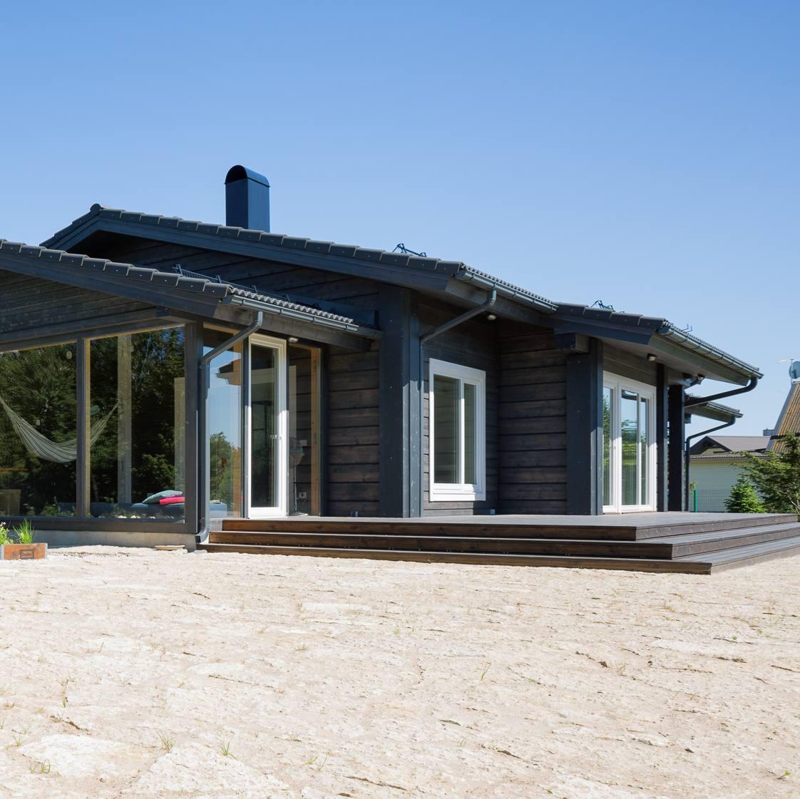Hea arhitekt paneb majaplaani ümbrusega kooskõlla!
