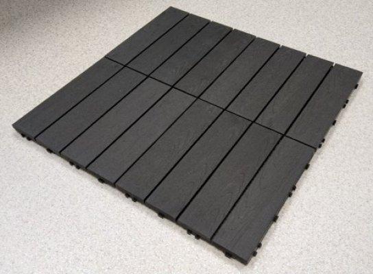 Pilt 4 - Puitplastkomposiidist terrassimoodulid