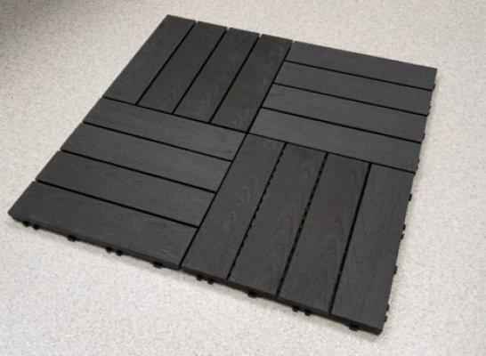 Pilt 2 - Loo terrassi või rõdu põrandale mustreid puitplastkomposiidist terrassiplaatidega!