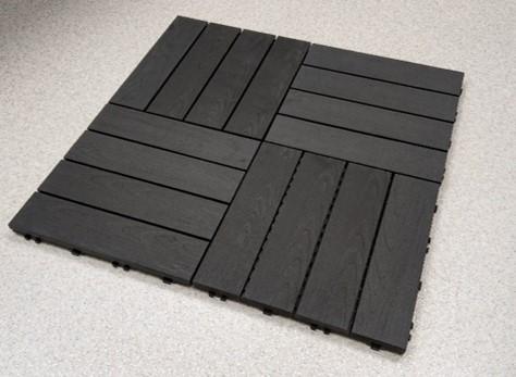 Loo terrassi või rõdu põrandale mustreid puitplastkomposiidist terrassiplaatidega!