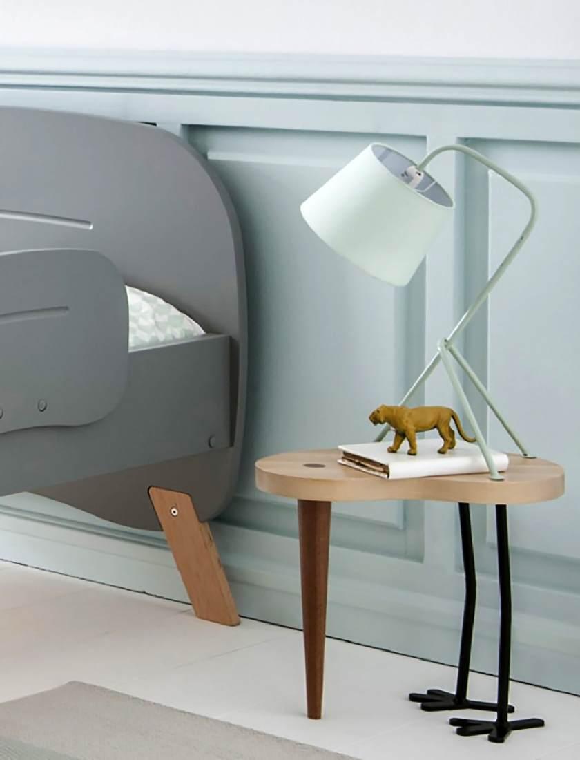"""Taburetti """"Tibu"""" saab edukalt kasutada lauakesena voodi kõrval."""