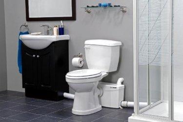 Pilt 3 - SFA minipumpla võimaldab wc-poti paigaldust ilma kanalisatsioonita kohta