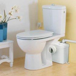 SFA minipumpla võimaldab wc-poti paigaldust kohta, kuhu muidu võimatu