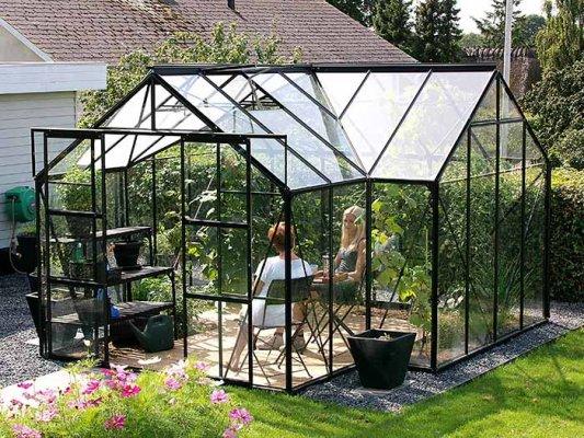 Pilt 2 - Õige sisustuse ja taimedega saab klaasist kasvuhoonest stiilse ja eristuv lahenduse.