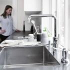 Damixa Silhouet köögi- ja vannitoasegistid ning dušikomplektid