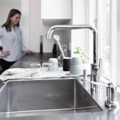Tippkvaliteediga Damixa Silhouet köögi- ja vannitoasegistid ning dušikomplektid