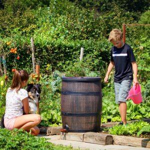 Ilmastikukindlad veekogumise tünnid - hea lahendus kastmisvee kogumiseks koduaias