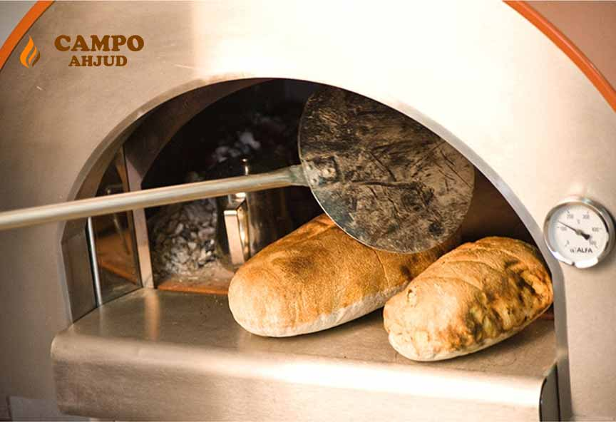 Ideaalne ahi leiva ja saia küpsetamiseks välitingimustes!