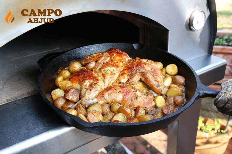 Pilt4-CAMPO kuppelahjus saab valmistada kõiki toite
