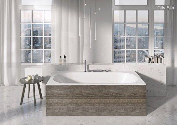 Pilt 3 - Viimistlusplaat muudab mistahes stiilis vannitoa lõpetatuks, see on kompaktne ja lihtne paigaldada ning plaadil ei ole mingeid palja silmaga nähtavaid ebatasasusi.