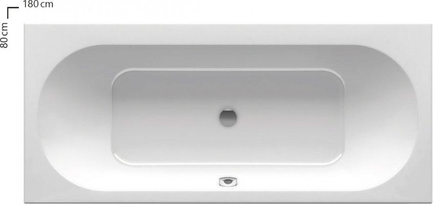 Pilt 4 - City Slim vanni vaid 15 mm kõrgune ülaserv vastab tänapäevase vannitoa sisekujundustrendidele suurepäraselt.