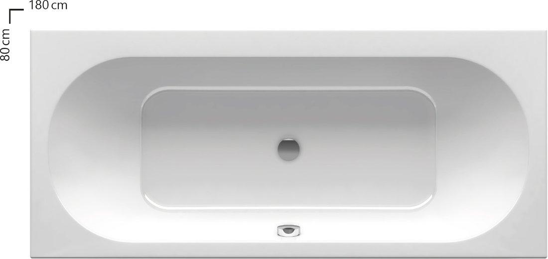 City Slim vanni vaid 15 mm kõrgune ülaserv vastab tänapäevase vannitoa sisekujundustrendidele suurepäraselt.